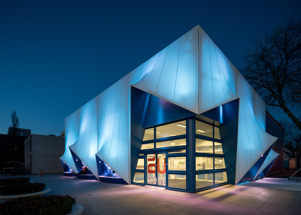 用3D打印完成的建筑外立面